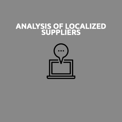 ANALYSIS OF LOCALIZED SUPPLIERS
