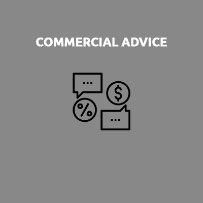 COMMERCIAL ADVICE
